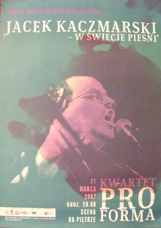 Plakaty Z Koncertów Kwartet Proforma